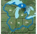 Garmin Topo US 24K Great Lakes Detailed Topographic Map, microSD/SD card