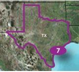 Garmin Topo U.S. 24K Texas Detailed Map, microSD/SD card