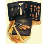 Grace USA Gun Care Tool Set w/ 8 Punches, 8 Screwdrivers, Hammer