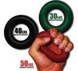 Grip Pro Finger-Hand-Forearm Exerciser Trainer, 30lb