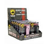 Guard Dog Security Pepper Spray Counter-Top Display - 12 Piece for 1/2oz Pepper Spray