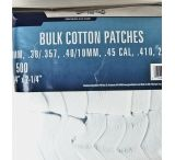 Gunslick Cotton Patches Bagged - Bulk