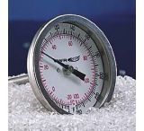 "HB Instrument Company Dual-Scale Bi-Metal Dial Thermometers 21690 225 Mm (87/8"") Stem Length"
