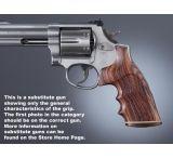 Hogue Ruger GP100/Super Redhawk Handgun Grip Kingwood Stripe Cap Checkered 80621
