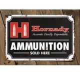 Hornady Ammo Tin Sign