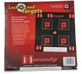 Hornady Lock-N-Load Paper Targets .5 Inch Grid Pattern 100 Per Pack 9963B