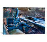 iCanvasART 60 Buick Lesabre Interior Canvas Print