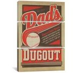iCanvasART Dads Dug Out by Anderson Design Group Print, US Made