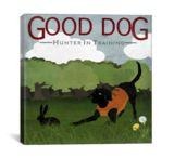 iCanvasART Good Dog Hunter In Training by Good Dog Studios Print, US Made