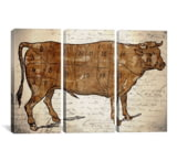 iCanvasART Le Boeuf III by Ginger Canvas Print, US Made