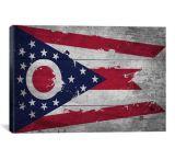 iCanvasART Ohio Flag, Canvas Print