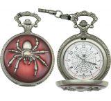 Infinity Spider Pocket Watch