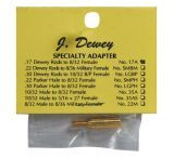 J. Dewey Specialty Adapter Converts .17/.20 Caliber Rods To Accept 8/32 Brushes 17AJ