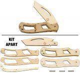 JJ's Knife Kit Single Blade Tactical Knife Kit