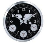 Konus Terrano Wall Clock W/ Metal Body