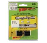 Kwik-Site .22 Adapter For Grooved Receiver Bright Black KS-W22B