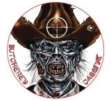 Lyman Zombie Dots Targets Butchered Cassidy Eight Inch Diameter 10 Per Pack 4026304