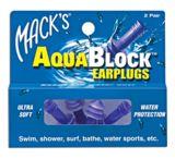 Mack's ? Aquablock? Earplugs