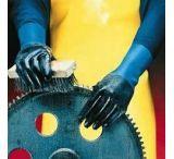 Mapa/Spontex Pioneer Corp Gloves NL-34 Neoprn Sml PK12PR 334946