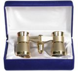 Masterpiece Collection Concerto 3x Opera Glasses, Gold Finish