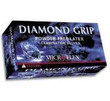 Microflex Diamond Grip Latex Gloves, Microflex MF-300-XL X-Large