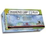 Microflex Diamond Grip Plus Latex Gloves, Microflex DGP-350-S