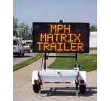 MPH Industries Speed Monitor Full Matrix Trailer