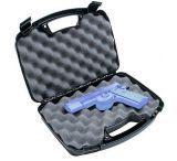 "MTM Black Single Handgun Case Up To 6"" Barrel 80740"