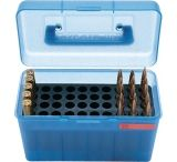 MTM H50 Ammunition Box .220 Swift to .30-06 Blue H50-RL-24