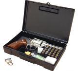 MTM Lockable Handgun Storage Box Black 804-40
