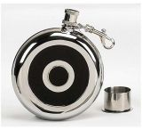 Mustang Stainless Steel Flask w/ Cup