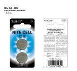 Nite Ize Cell 2032 3V Lithium Battery 2Pack