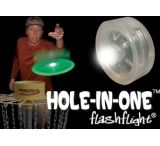 Nite Ize HIO-07-02 Hole-In-One White LED Light to Illuminate Your Flying Disc