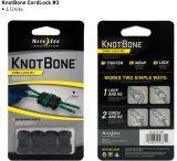 Nite Ize KnotBone Size 3 Cord Lock - 4-pack