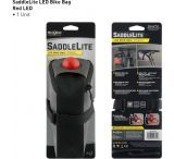 Nite Ize SaddleLite LED Bike Bag - Red LED