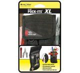 Nite Ize NPXL-03-01 Clip Pock-Its XL Flashlight and Utility Holster w/ Belt Clip