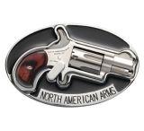 North American Arms Belt Buckle Holster With Lever For NAA .22 Long Rifle Revolver BBE-L