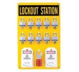 Brady 10 Lock Station W/locks Tags 262-65680