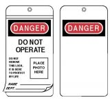 Honeywell Safety I.d. Photo Lockout Tagslaminat 068-EEA303G