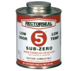 Rectorseal No.5 1point Subzero Pipe Threa 622-27541