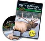 Outdoor Edge Cutlery DVD-Quarter & Debone in Field: Volume 2