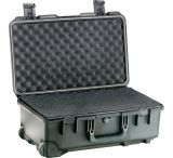 Pelican Storm Cases - iM2500 - w/ wheels - No Foam - Cubed Foam - Padded Divider - Airline - Carry On