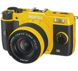 Pentax Q7 Compact Mirrorless Camera with 5-15mm and 15-45mm Lenses