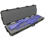 "Plano Molding Bone Collector AW Double Scoped Rifle Case w/ Wheels - 52""x13""x5.25"