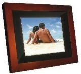 "Portable USA 8"" Wood Digital Picture Frame PU8W"