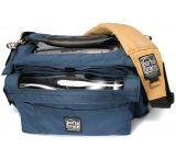 PortaBrace AO-4 Audio Organizer Case 13x7x7 - Blue
