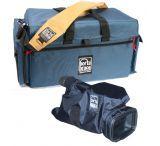 PortaBrace DVO-3 DV Organizer Camera Case 18x12x9 with Quick Slick Mini camera cover and Lights
