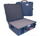 PortaBrace PB-2700 Waterproof Vault Hard Case 21x18x7 interior Blue