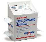 Pyramex Lens Cleaning Station w/ 16 oz Cleaning Solution / 1200 tissues LCS20