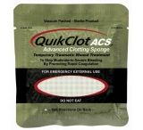 QuikClot ACS+ TraumaPak Advanced Clotting Sponge First Aid Kit Hemostatic Agent 1x100g